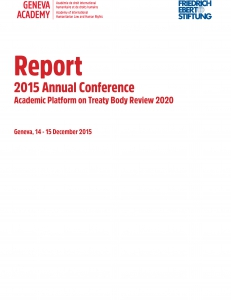 Cover of the Agenda of the 2015 Global Conference