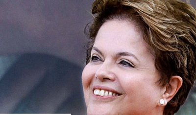 Portrait of Dilma Rousseff