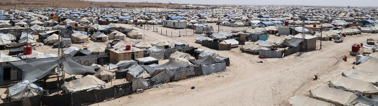 refugee camp in Northern Syria