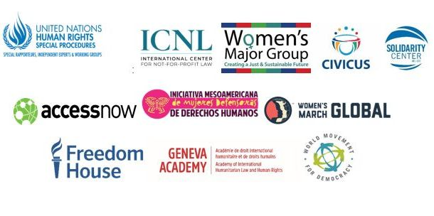 Logos Celebrating Women in Civil Society and Activism