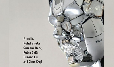 Cover page of the book Autonomous Weapons: Law, Ethics, Policy