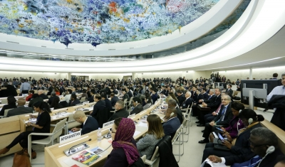 A general view at a 26th session of the Human Rights Council.