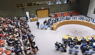 A wide view of the UN Security Council