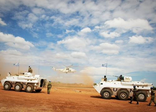 UN Mission patrols disputed area in Sudan