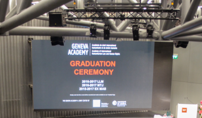 2017 Graduation Ceremony