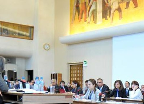 Room XII at the Palais des Nations