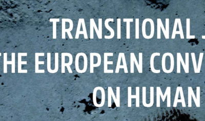 Cover page of Briefing No 10: Transitional Justice and the European Convention on Human Rights