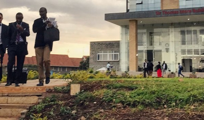 Picutre of the Strathmore Law School in Kenya