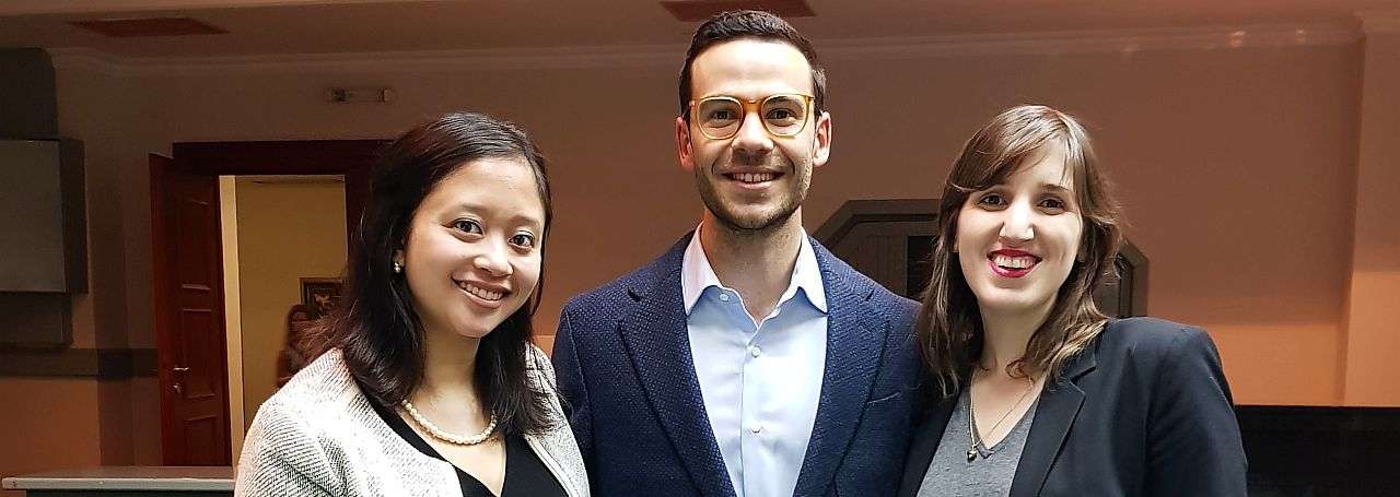 LLM Students at the 2018 Jean Pictet Competition