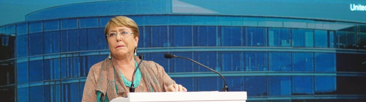 Nelson Mandela Human Rights Lecture Michelle Bachelet