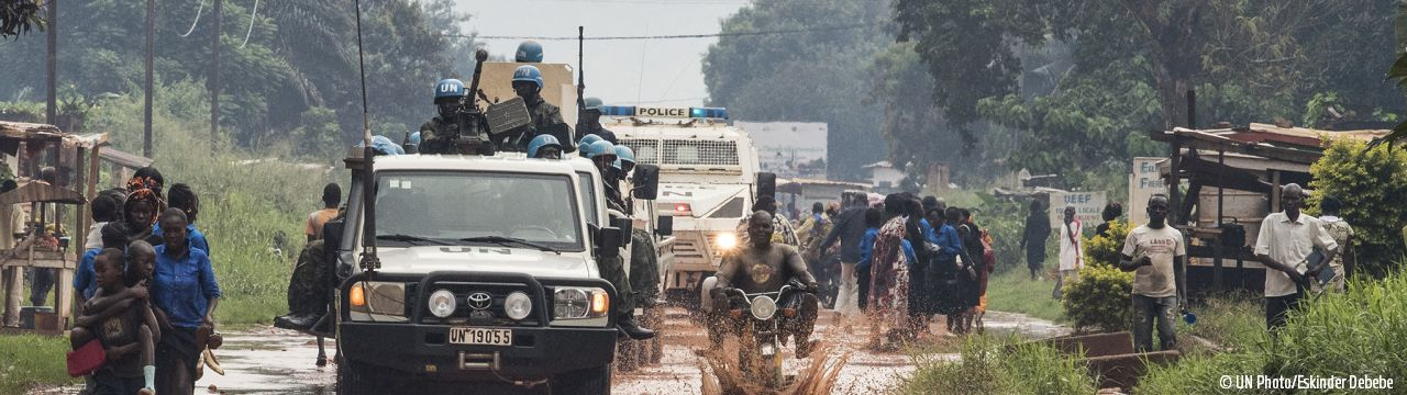 War Report Armed Conflict in the Central African Republic CAR MINUSCA