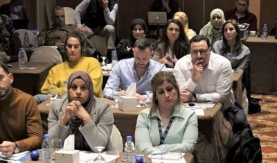 raining session at our regional IHL event in Beirut in December 2018