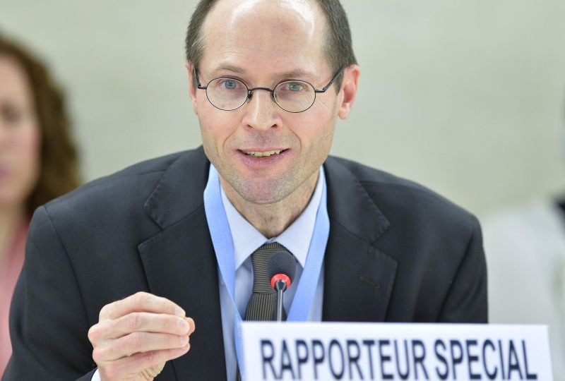 Olivier De Schutter, UN Special Rapporteur on extreme poverty and human rights at the UN in Geneva.