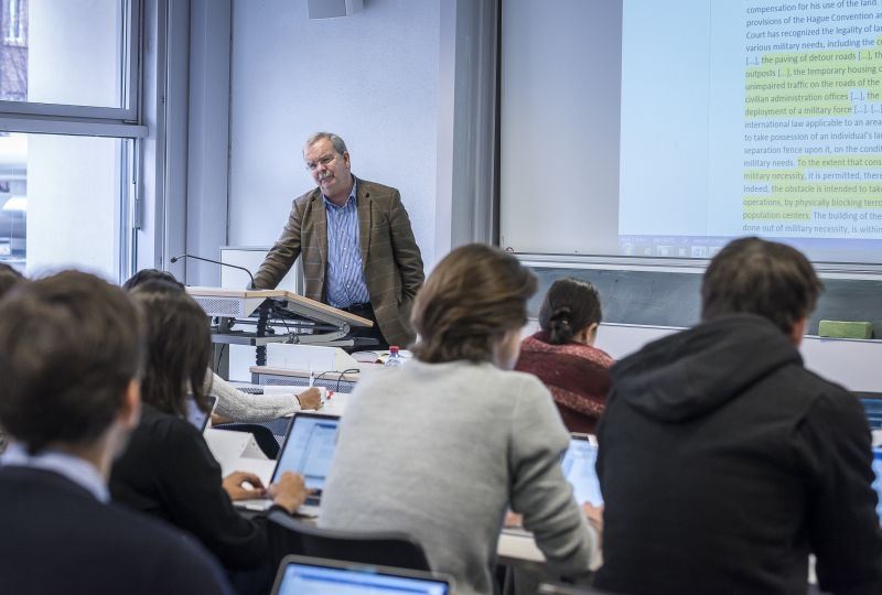 A LLM class with Professor Marco Sassoli