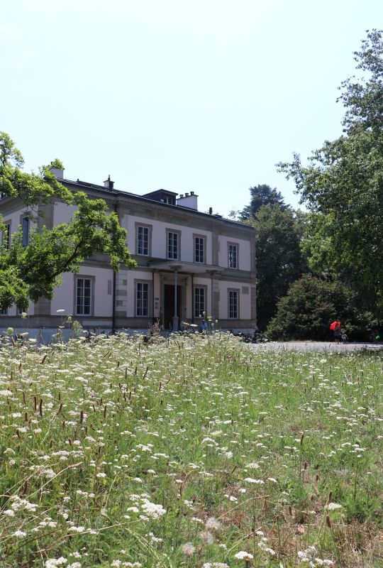 View of Villa Moynier