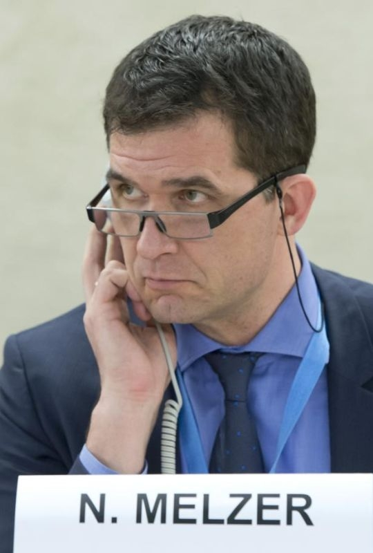 Portrait of Nils Melzer, UN Special Rapporteur on torture