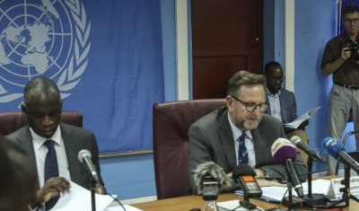 Press conference by the UN South Sudan inquiry Commission