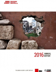 Cover of the Annual Report 2016