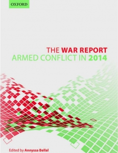 Cover page of the War Report 2014