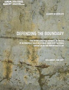 Cover of Briefing N°9: Defending the boundary