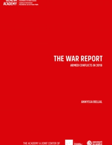 Cover page of the War Report 2018