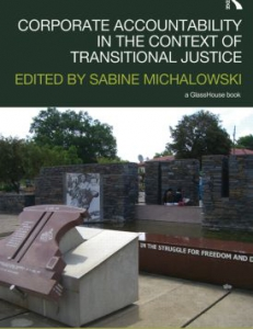 Cover of the book Linking Transitional Justice and Corporate Accountability