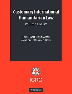 Cover of the book ICRC Study on Customary International Humanitarian Law