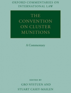 Cover of the book The Convention on Cluster Munitions
