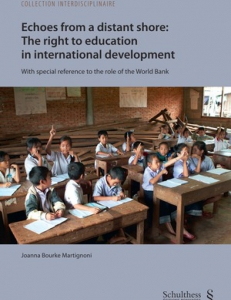 Cover of the book The Right to Education in International Development