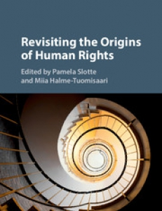 Coverpage of the book Revisiting the Origins of Human Rights