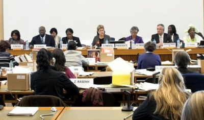 53rd session of the UN Committee on the Elimination of Discrimination against Women (CEDAW) at the Palais des nations, Geneva, October 2012