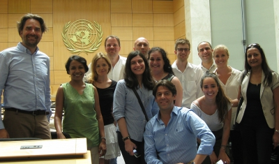 Geneva Academy's traininh session at the UN