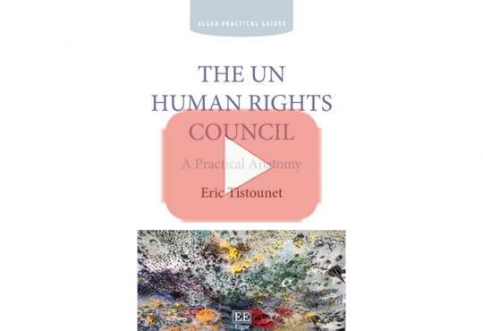 Book Launch: A Practical Anatomy of the Human Rights Council